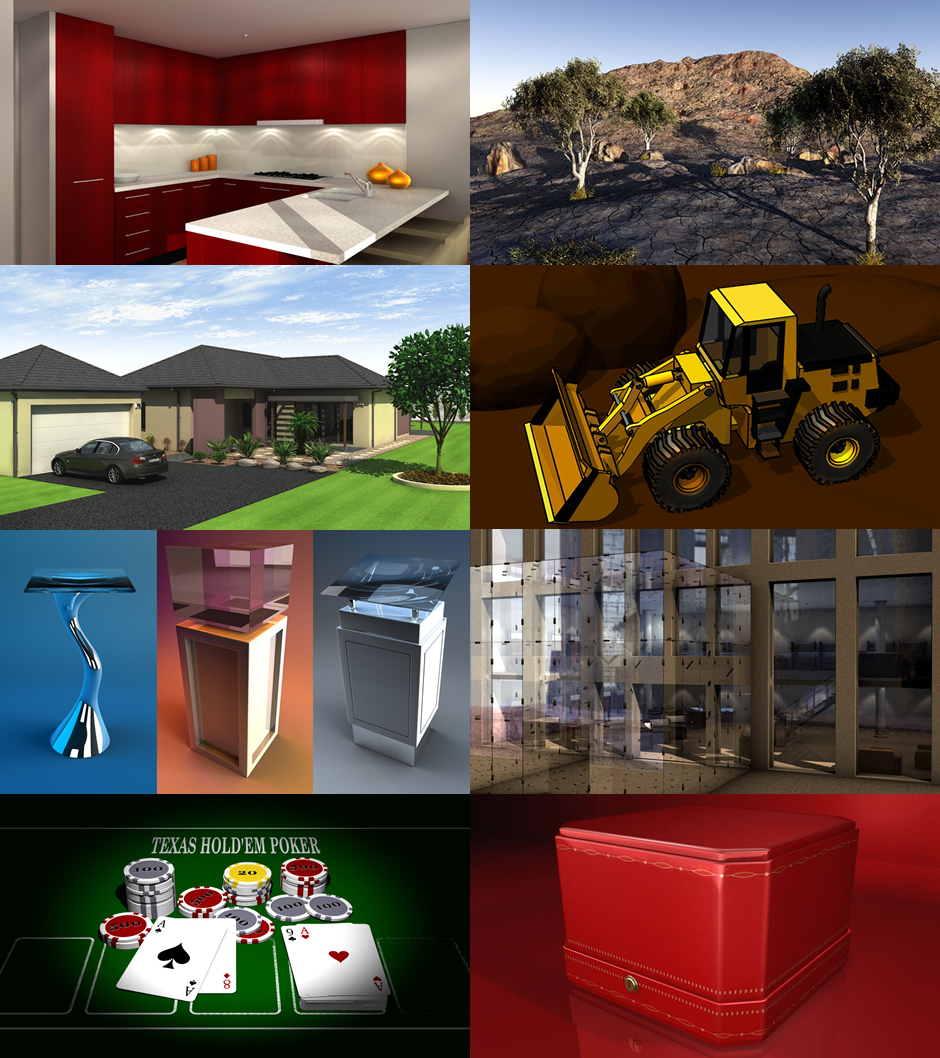 3D Modelling Texturing and Renders 02
