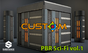 CUSTOM PBR Substances vol.1