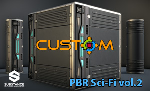 CUSTOM PBR Substances vol.2